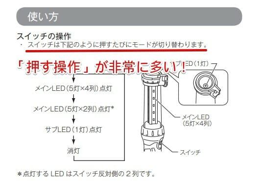 マキタワークライトml807取説